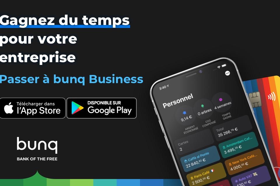 offre business bunq